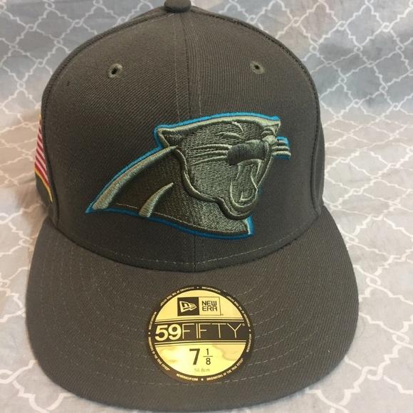 the best attitude a31a6 b6271 Carolina Panthers New Era Salute To Service Hat NWT